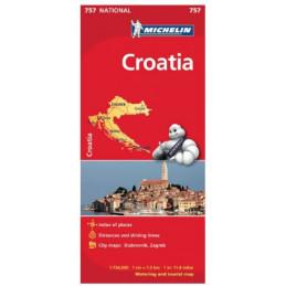 Michelin Kroatian kartta...