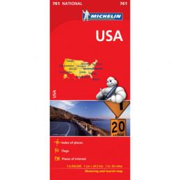 Michelin USA kartta