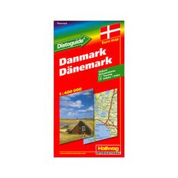 Tanska tiekartta 1:300 000