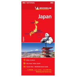 Michelin Japani tiekartta