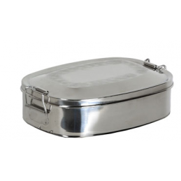 Basic Nature Oval Lunch Box
