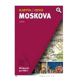 Moskova kartta + opas