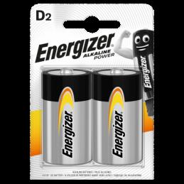 Energizer Power D, 2kpl