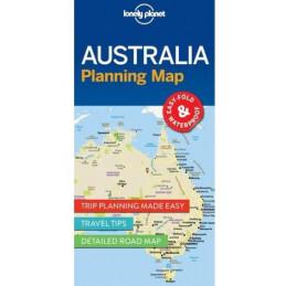 Lonely planet Australia kartta