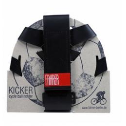 Fahrer Kicker musta, pallon...