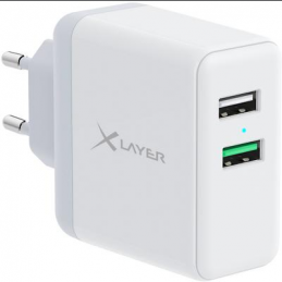 Xlayer Dual USB/USB-C...