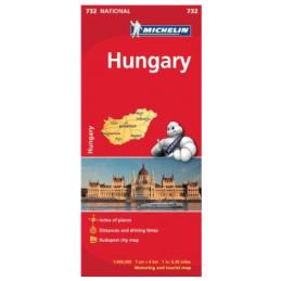 Michelin Unkari kartta