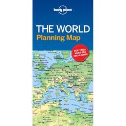Lonely Planet maailman kartta