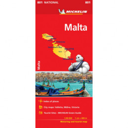 Michelin Malta tiekartta