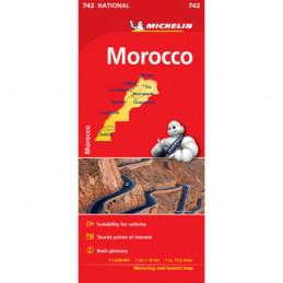 Michelin Marokko Kartta