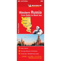 Michelin Länsi-Venäjä...