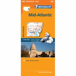 Michelin Keski-Atlantti USA...