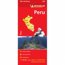 Michelin Peru kartta
