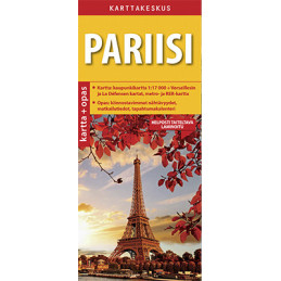 Karttakeskus Pariisi kartta...