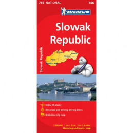 Michelin Slovakia Kartta