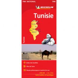 Michelin Tunisia tiekartta