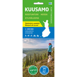 Karttakeskus Kuusamo 1:100...