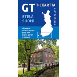 GT tiekartta Etelä-Suomi,...