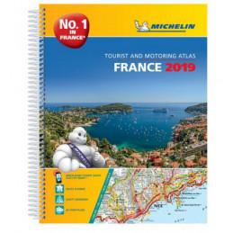 Michelin Ranska atlas 2019