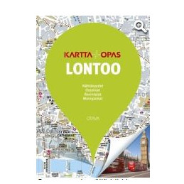 Lontoo kartta + opas