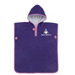 Aqua Sphere Baby Towel Purple