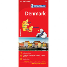 Michelin Tanska kartta