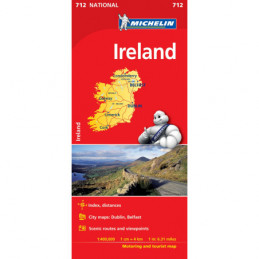 Michelin Irlanti kartta