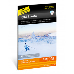 Calazo map of Pyhä Luosto...