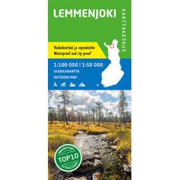 Lemmenjoki 1:100 000/1:50...