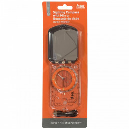 SOL sighting compass with...