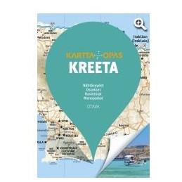 Kreeta kartta + opas