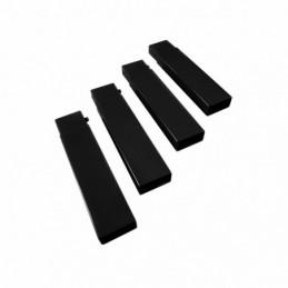 Disc-O-Bed korokepalat musta